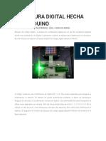 Cerradura Digital Hecha Con Arduino