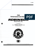 Robinson Fan Performance and Design