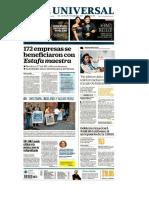 Portadas Nacional y Local.