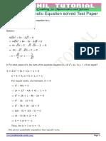 10 cbse quadratic