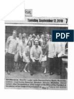 Peoples Journal, Sept. 17, 2019, Solons led by Majority Leader Leyte Rep. Martin Romualdez (center) congratulate Exec. Sec. Medialdea.pdf