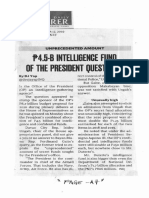 Philippine Daily Inquirer, Sept. 17, 2019, P4.5-B Intelligence fund of the President questioned.pdf