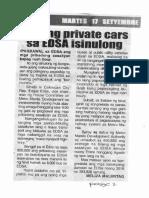 Remate, Sept. 17, 2019, Ban ng private cars sa EDSA isinulong.pdf