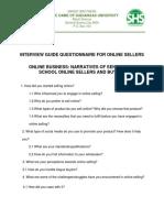 Questionnaire Kz
