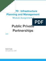 Public private Parterships