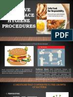 Contamination vs Food Borne Diseases