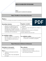 Diseño Planeación Inversa - Bloque i - Español - 6 Grado - Mr Fernando Mtz