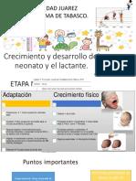 Crecimiento y desarrollo del neonato y el lactante.pptx
