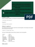 Interface Graphique Tkinter Python_