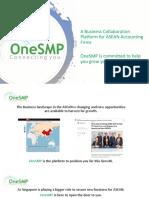 OneSMP Presentation