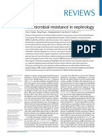 Antimicrobial Resistance in Nephrology 2019