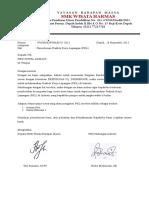 Surat Pengantar PKL Akmani