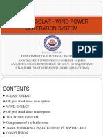 Hybrid Power Generation Mid Term
