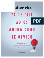 Ya Te Dije Adios Ahora Como Te Olvido PDF