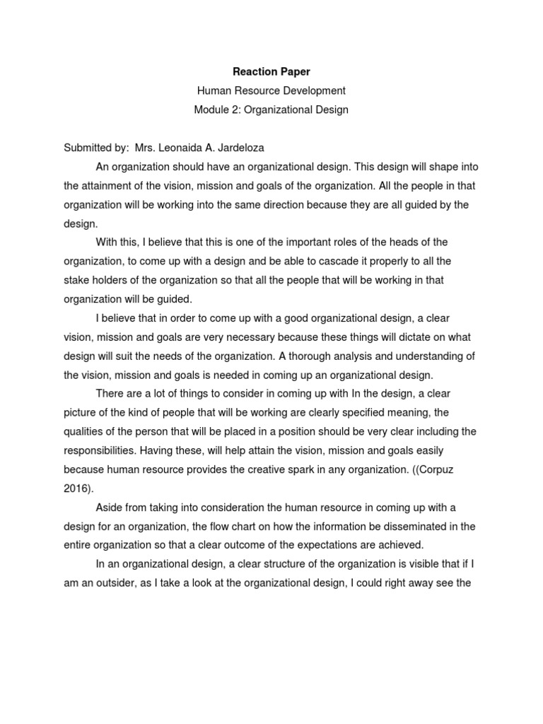 Example of thesis about teaching strategies
