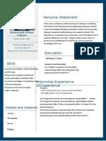 CV Muhammad Irkham hidayat.docx