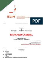 ISCIM - MERCADOS E PRODUTOS FINANCEIROS - OITAVA AULA DE 08, 09 E 10 DE ABRIL DE 2019.pptx