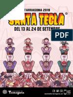 Programa de Santa Tecla 2019