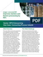 BPO Outsourcing Case Study
