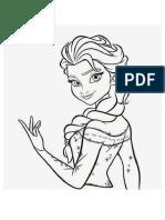 Elsa HitaM Putih