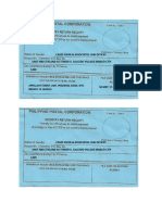 Registry Return Card