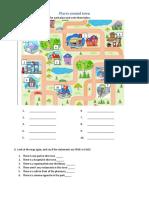 Places Around Town Fun Activities Games Grammar Drills Grammar Guides 118304