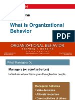 Organizational Behaviour Stephen Robbins Chapter 1