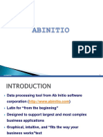 Ab Initio Training slides and documents