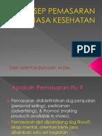 KONSEP PEMASARAN JASA KESEHATAN (TM 1) prog.pptx