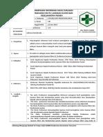 SOP 1 Penyampaian Informasi Hasil Evaluasi Peningkatan Mutu Layanan Klinis Dan Keselamatan Pasien (BAB 9.4.4 EP 1)
