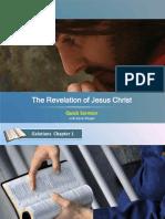 the revelation of JesusChrist