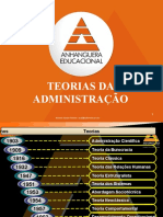 03 - Ênfase nas Tarefas= Teoria da Administração Científica -Teorias da Administração