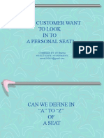 1.0a to z OF SEATING