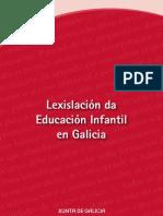 Lexislacion Da Educacion Infantil en Galicia