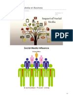 Impact of Social Media on Business