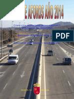 Plan Aforos Año 2014