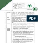 8.2.3.3 Sop Pemberian Obat Kepada Pasien Dan Pelabelan