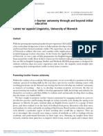 Learner's Autonomy