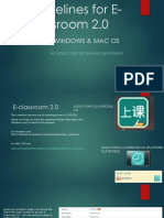 Guidelines for E-classroom (Final)