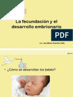 La fecundación y el desarrollo embrionario