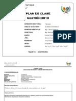 Formato Plan de Clase p0rimer Bimestre