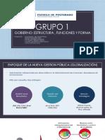 Grupo 1- Gobernanza