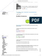 ?▷【 Análisis Sintáctico - Lengua Sexto Primaria (11 años) 】SOLUCION