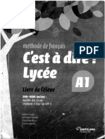 C´est à dire! Lycée A1 - livre de l´élève -  Editorial Santillana français