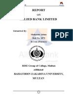 Final Internship ABL (Mubashir Abbas)