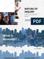 Chapter 1- Introduction to Quantitative Research