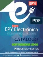 Catálogo EPY Septiembre 2019