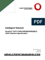 SurePay R26SU2 LDAP Interface Specification