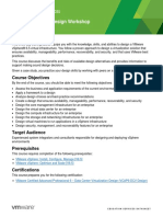EDU_DATASHEET_vSphere Design Workshop V6.5