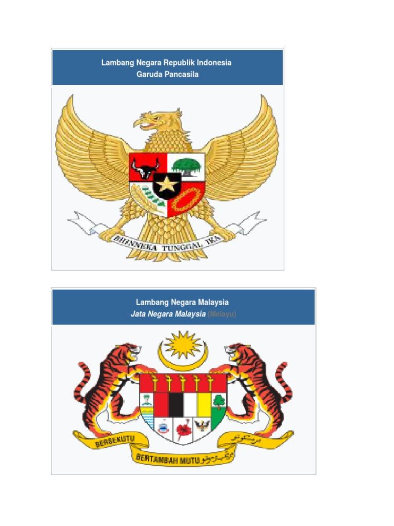 Lambang Negara Republik Indonesia Garuda Pancasila